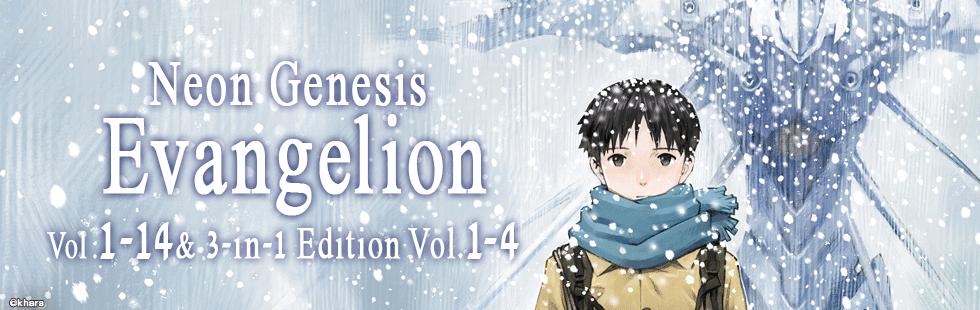 Neon Genesis Evangelion Vol.1-14 & 3-in-1 Edition Vol.1-4