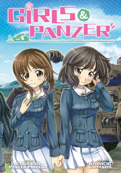 Girls und Panzer Vol. 4拡大写真
