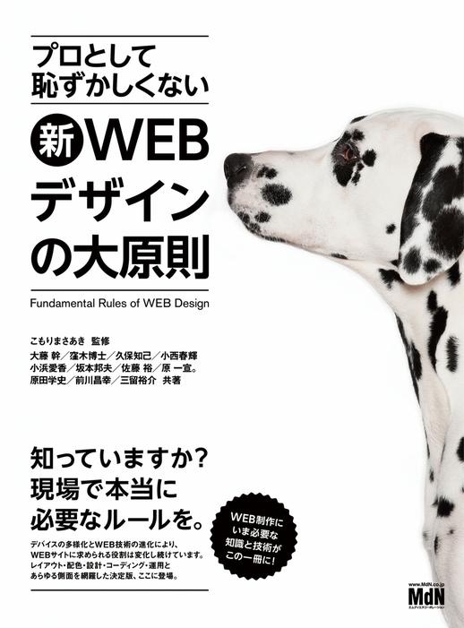 プロとして恥ずかしくない 新・WEBデザインの大原則拡大写真