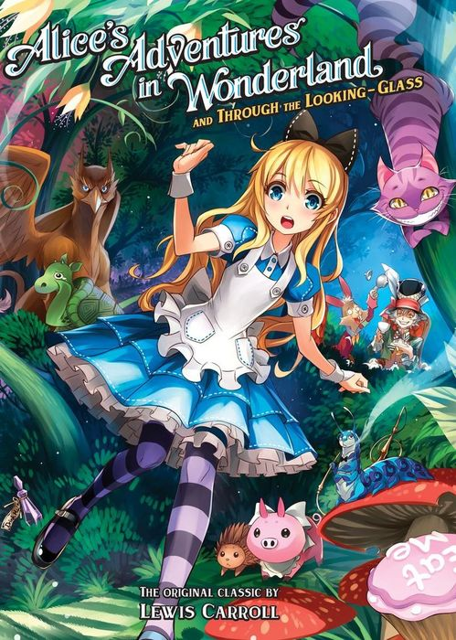Alice's Adventures in Wonderland and Through the Looking-Glass拡大写真