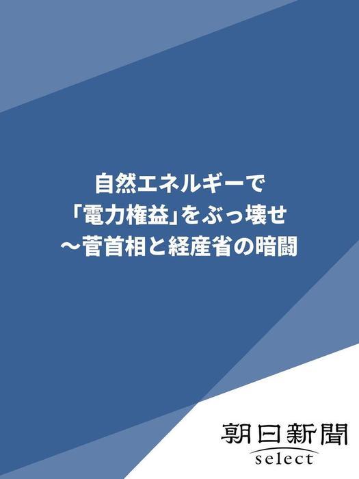 自然エネルギーで「電力権益」をぶっ壊せ ~菅首相と経産省の暗闘-電子書籍-拡大画像