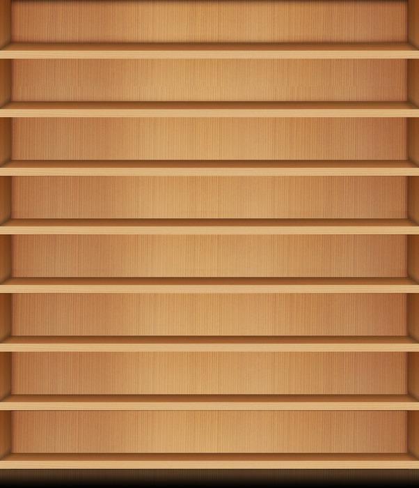木目調 きせかえ本棚拡大写真