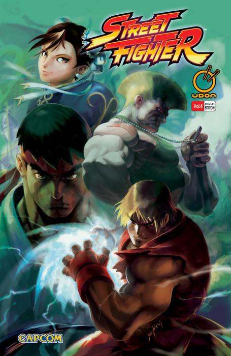 Street Fighter Vol.4拡大写真