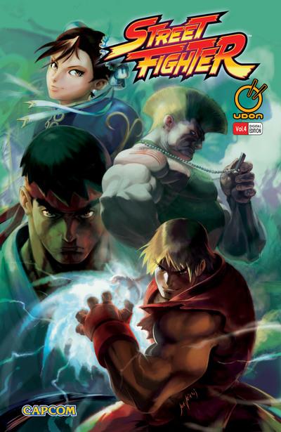 Street Fighter Vol.4-電子書籍