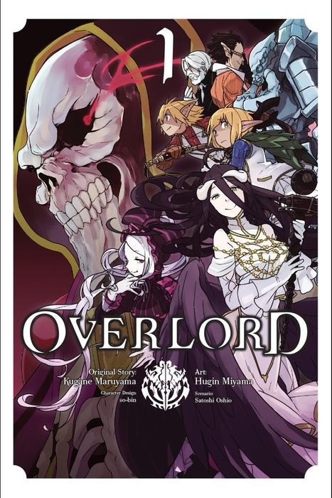 Overlord, Vol. 1 (manga)拡大写真