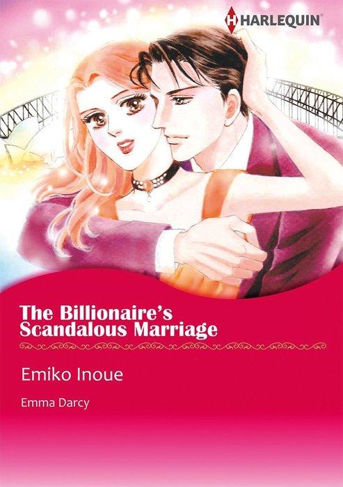 THE BILLIONAIRE'S SCANDALOUS MARRIAGE-電子書籍-拡大画像