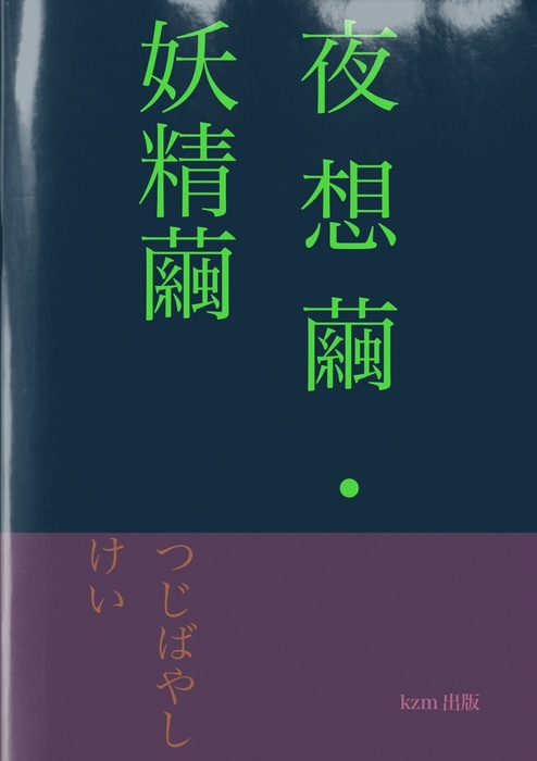 詩集 夜想繭・妖精繭拡大写真