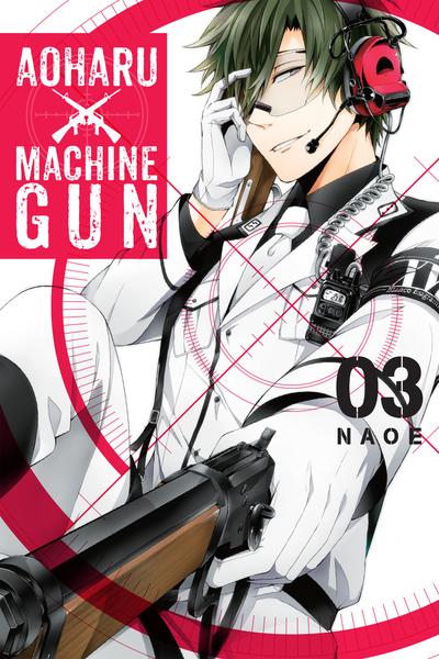 Aoharu X Machinegun, Vol. 3-電子書籍