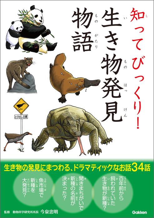 知ってびっくり!生き物発見物語拡大写真