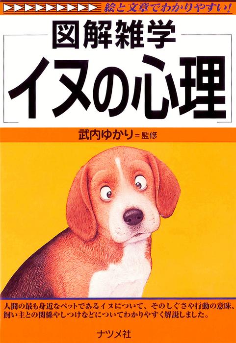 イヌの心理拡大写真
