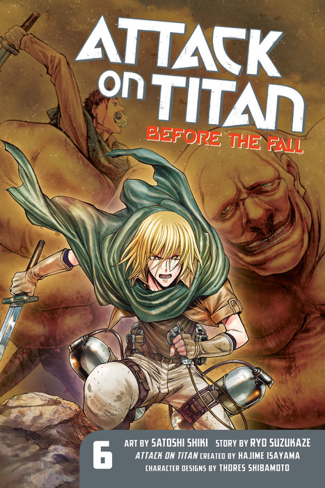 Attack on Titan: Before the Fall 6拡大写真