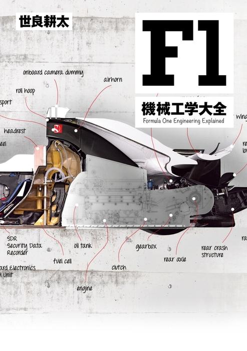 MFi特別編集F1機械工学大全拡大写真