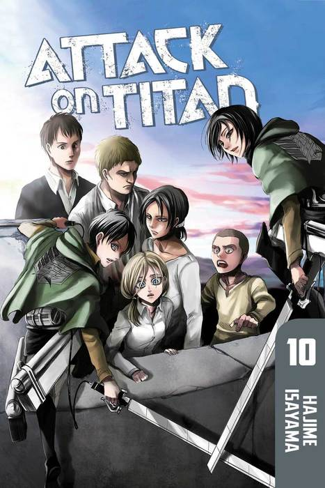 Attack on Titan 10拡大写真