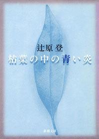 枯葉の中の青い炎