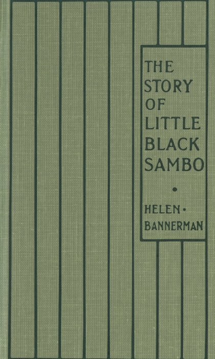 The Story of Little Black Sambo拡大写真