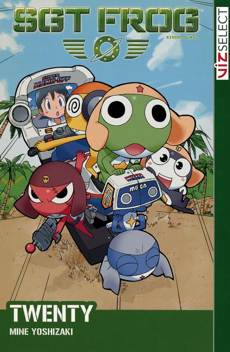 Sgt. Frog, Volume 20拡大写真
