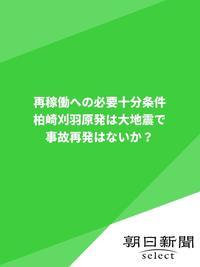 再稼働への必要十分条件 柏崎刈羽原発は大地震で事故再発はないか?-電子書籍