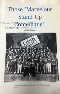 """Those """"Marvelous Stand-Up Comedians!!"""