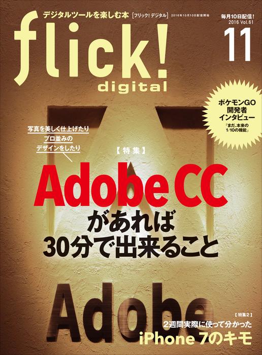 flick! digital 2016年11月号 vol.61拡大写真
