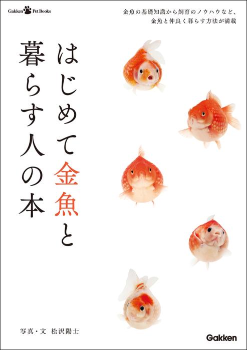 はじめて金魚と暮らす人の本拡大写真