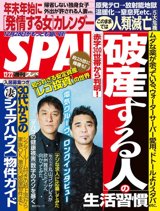 週刊SPA! 2015/12/22号拡大写真