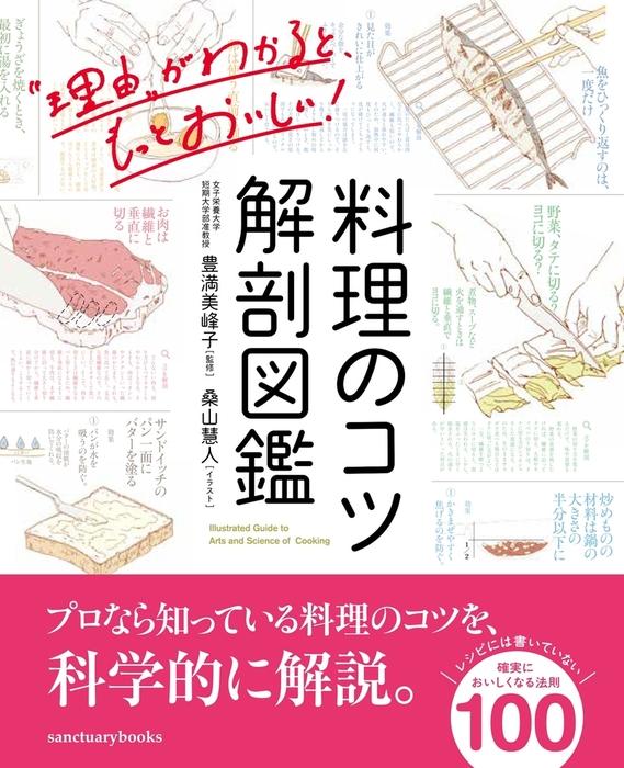 料理のコツ 解剖図鑑拡大写真
