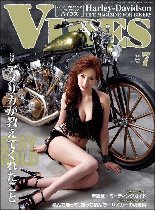 VIBES【バイブズ】2015年7月号拡大写真