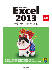 Microsoft Excel 2013 基礎 セミナーテキスト-電子書籍