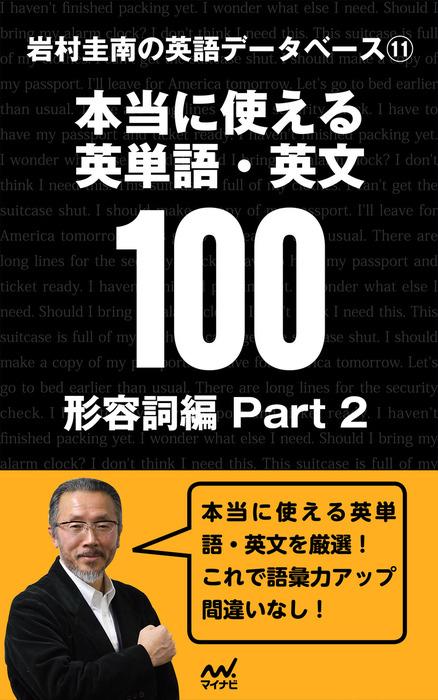 岩村圭南の英語データベース11 本当に使える英単語・英文100 形容詞編Part2-電子書籍-拡大画像