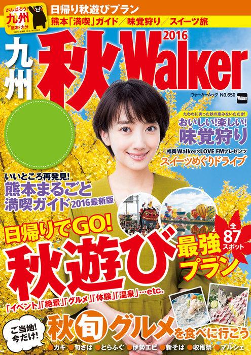 九州秋Walker2016拡大写真