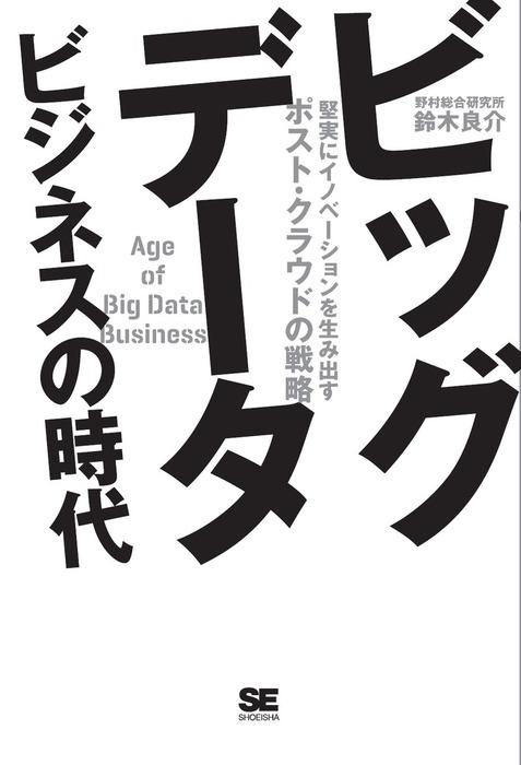 ビッグデータビジネスの時代拡大写真