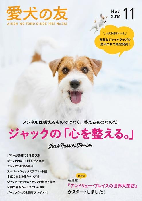 愛犬の友2016年11月号拡大写真