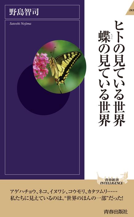 ヒトの見ている世界 蝶の見ている世界拡大写真