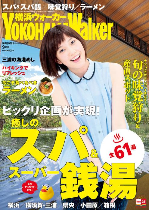 YokohamaWalker横浜ウォーカー 2015 9月号拡大写真