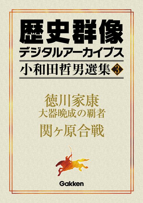 小和田哲男選集3 徳川家康 大器晩成の覇者 関ヶ原合戦拡大写真