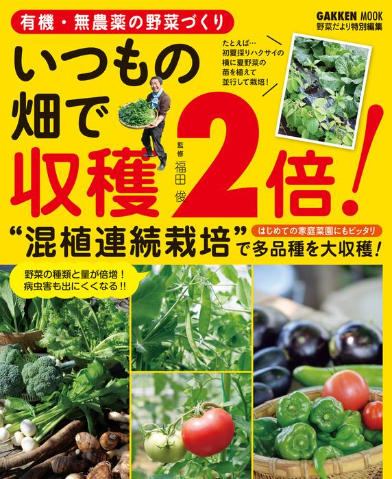 有機・無農薬の野菜づくり いつもの畑で収穫2倍!拡大写真