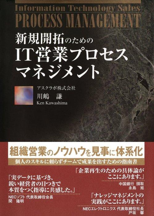 新規開拓のための IT営業プロセスマネジメント(日経BP Next ICT選書)-電子書籍-拡大画像