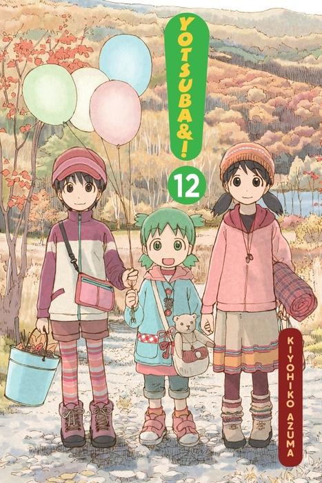 Yotsuba&!, Vol. 12拡大写真