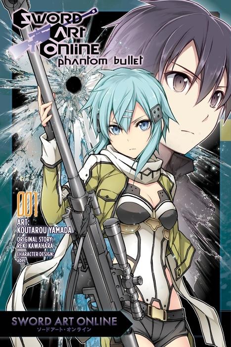 Sword Art Online: Phantom Bullet, Vol. 1 (manga)拡大写真