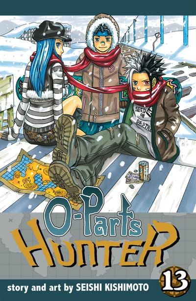 O-Parts Hunter, Vol. 13-電子書籍