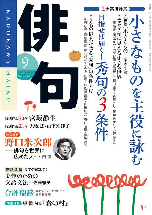 俳句 28年9月号拡大写真