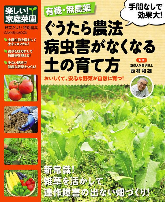 ぐうたら農法 病虫害がなくなる土の育て方拡大写真