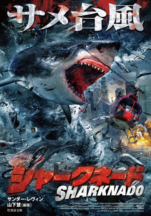 シャークネード サメ台風拡大写真