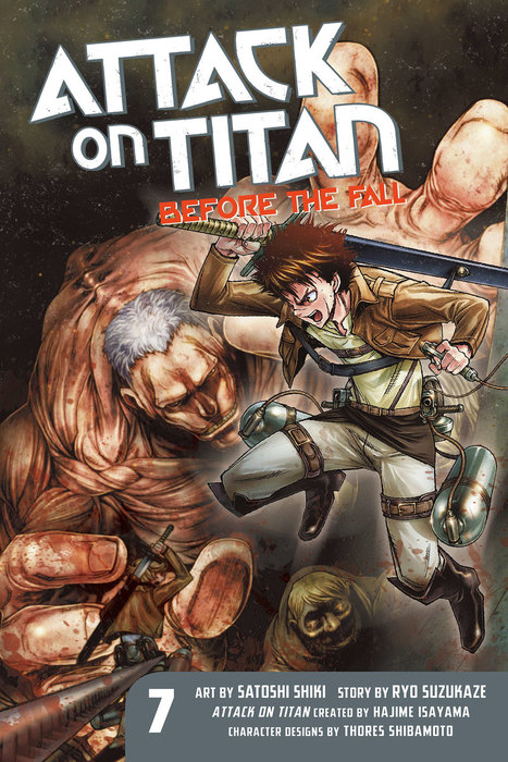 Attack on Titan: Before the Fall 7拡大写真