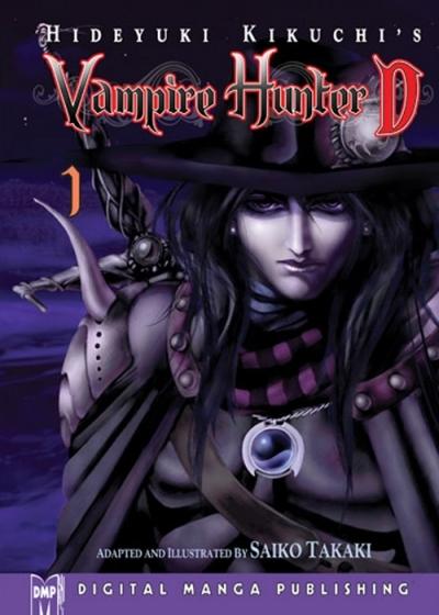 Vampire Hunter D Vol. 1 - 4 By Hideyuki Kikuchi - Illustrated By Saiko Takaki
