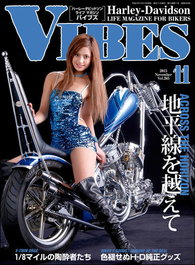 VIBES【バイブズ】2015年11月号-電子書籍