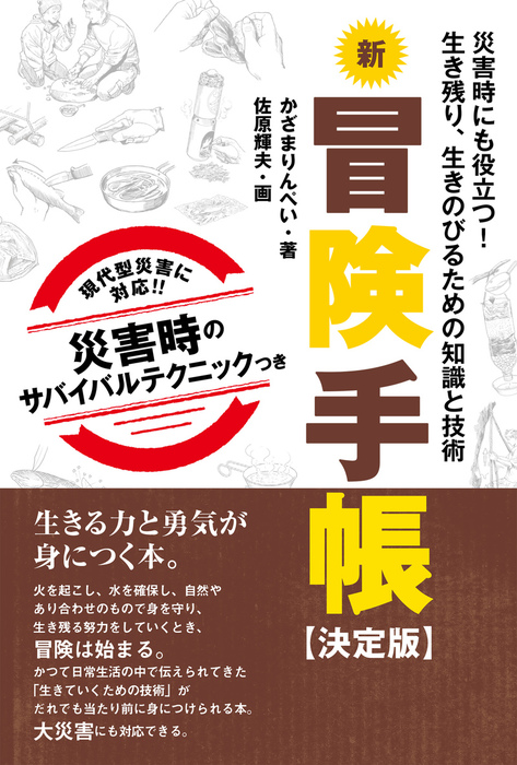 新冒険手帳 【決定版】拡大写真