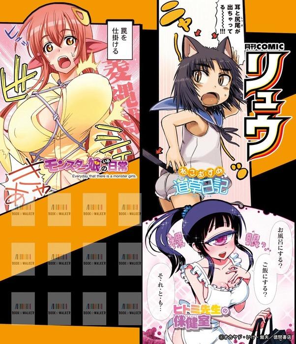 『RYU COMICS』無料きせかえ本棚拡大写真