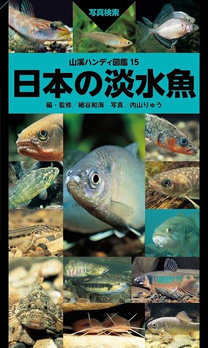 山溪ハンディ図鑑15 日本の淡水魚拡大写真