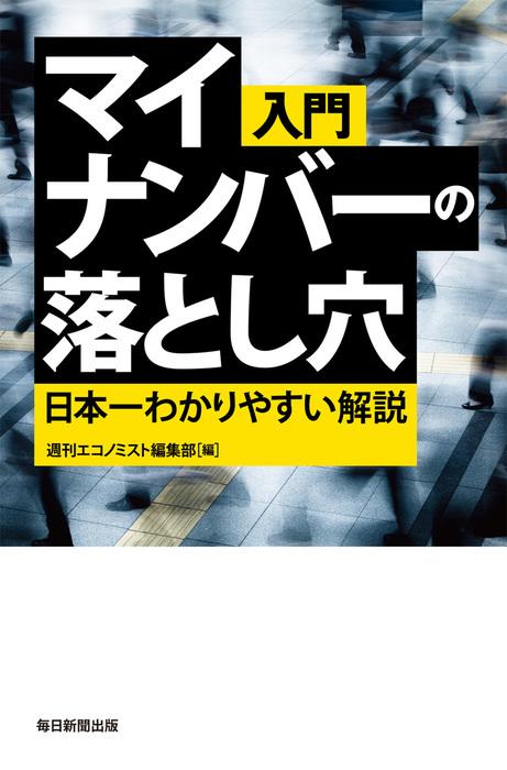 入門 マイナンバーの落とし穴 日本一わかりやすい解説拡大写真